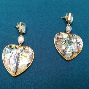 Baublebar heart earing set